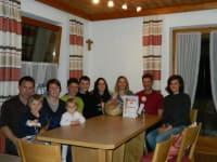 Gästeehrung 10 Jahre Familie Schadt