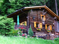 Brandhütte Sommer