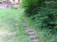 Fussweg zur Hütte