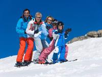 Winter Skifahren