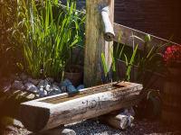 Brunnen mit Quellwasser