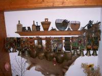 Glocken im Stiegenhaus am Tunelhof
