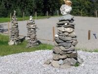 Steinmandln am Familienbauernhof Tunelhof