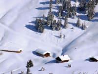 Schneeschuhwandern auf die Nurpensalm