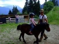 Ponyreiten am Breierhof