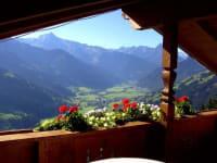 Panorama Blick Zillertal