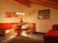 Wohnküche in der Ferienwohnung Fichtentraum