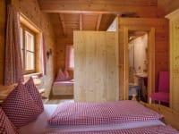 Familienschlafzimmer mit Kinderetagenbetten, Fewo Kristberg
