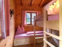 Kinderetagenbetten im Familienschlafzimmer, Fewo Kristberg