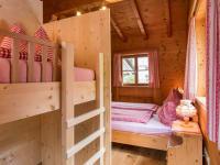 Familienschlafzimmer mit Etagenbett Fewo Kristberg
