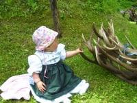 unsere kleine Hannah liebt die Jagd genau wie Ihr Papa.