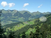 Ludescherberg - ganz oben unser Hof