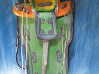 original mongolischer Sattel