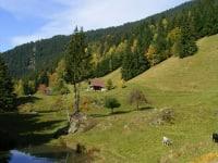 eigener kleiner Bergsee