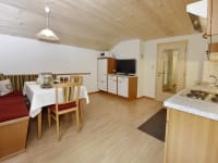 Wohnküche Ferienwohnung Enzian
