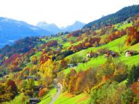 Blick vom Sallerhof im Herbst