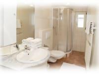 Dusche-WC Ferienwohnung Montafon