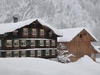 Bauernhof Erath im Winter