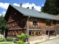 typisches bregenzerwälder Haus