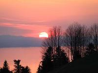 Sonnenuntergang am Innauerhof