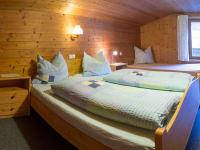 Zweites Schlafzimmer in der Ferienwohnung Fichtenwald