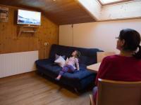 Wohnküche in der Ferienwohnung Fichtenwald