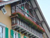 Balkon von den Ferienwohnungen