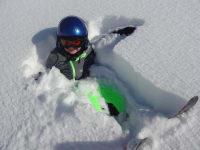 Pause im Schnee