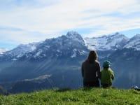Ausblick auf unserer Alpe
