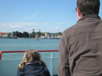 Ausflugsfahrt auf dem Bodensee