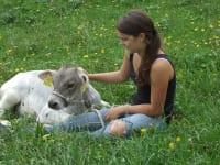 Marita mit Lieselotte