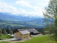 Wohnung und Bauernhof