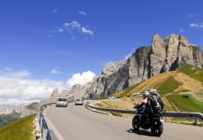 Motorcycling in South Tyrol