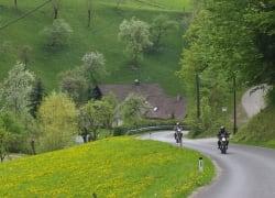 Pension Drei Hacken, Motorradfahren