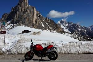 Saisonstart in den Dolomiten