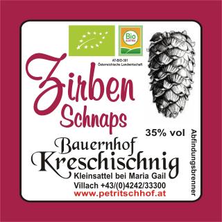 Zirben-Schnaps