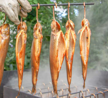 fresh smoked fish