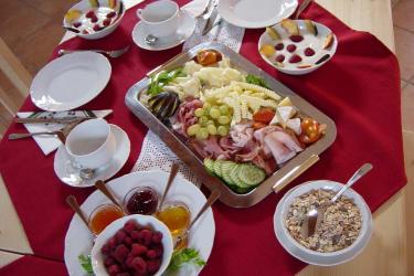 Genussfrühstück in der Stube