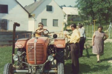 Unser erster Traktor