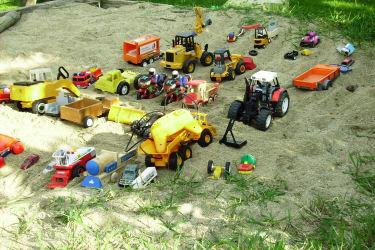 der Kinderfuhrpark