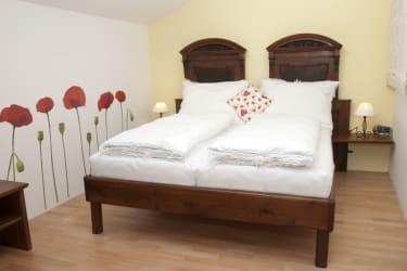 zweites Schlafzimmer im Blumenstoeckl