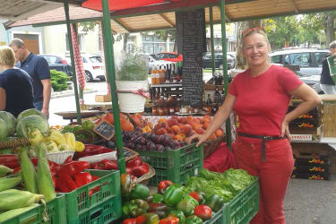 Obst- u.- Gemüsestand Podersdorf