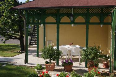 Gartenpavillon der Weinherberge