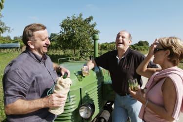 Weingartenbesuch