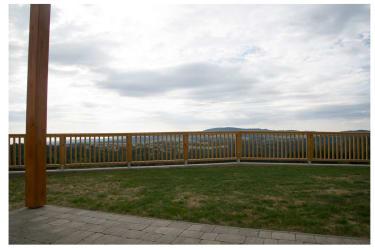 Terrasse plus Garten
