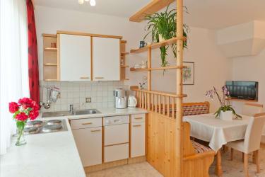 Appartementhaus, Küche