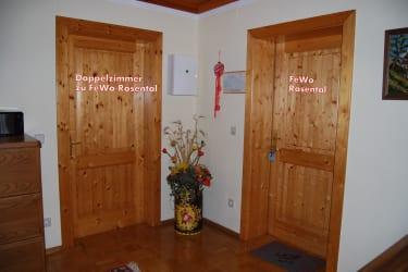 Malehof - sep.Zugang DZ zu FeWo Rosental