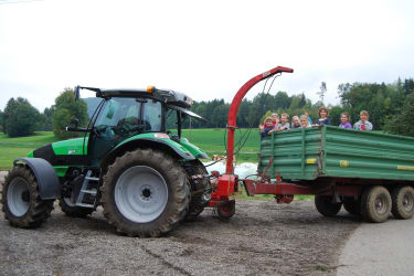 Unser neuer Deutz-Traktor