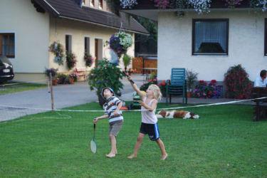 Spielen im Garten