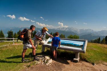 Wandern im Naturpark Dobratsch